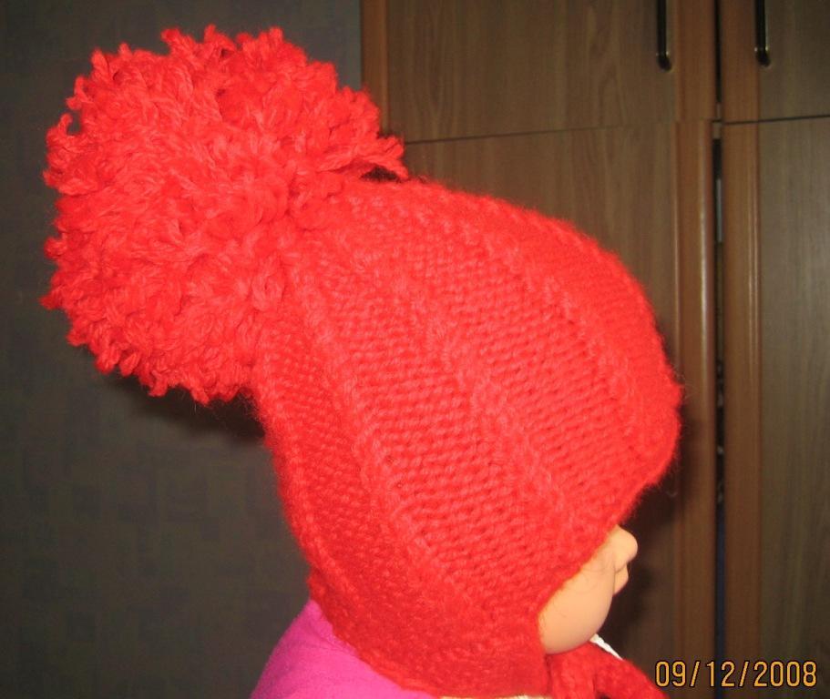 Как сделать вязаный помпон для шапки
