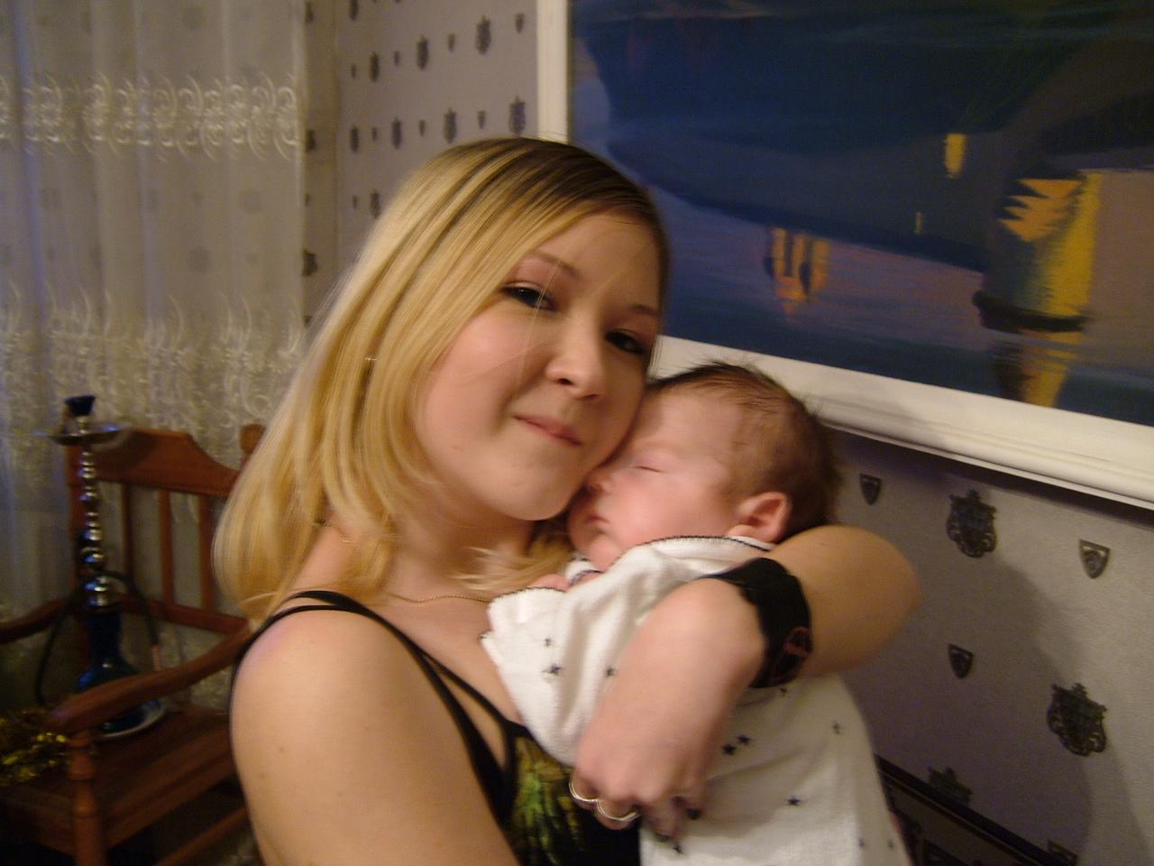 Тетя мыла племянника 7 фотография