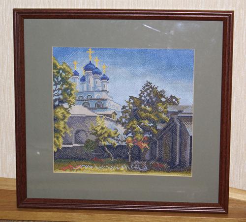 Московский дворик вышивка золотое руно