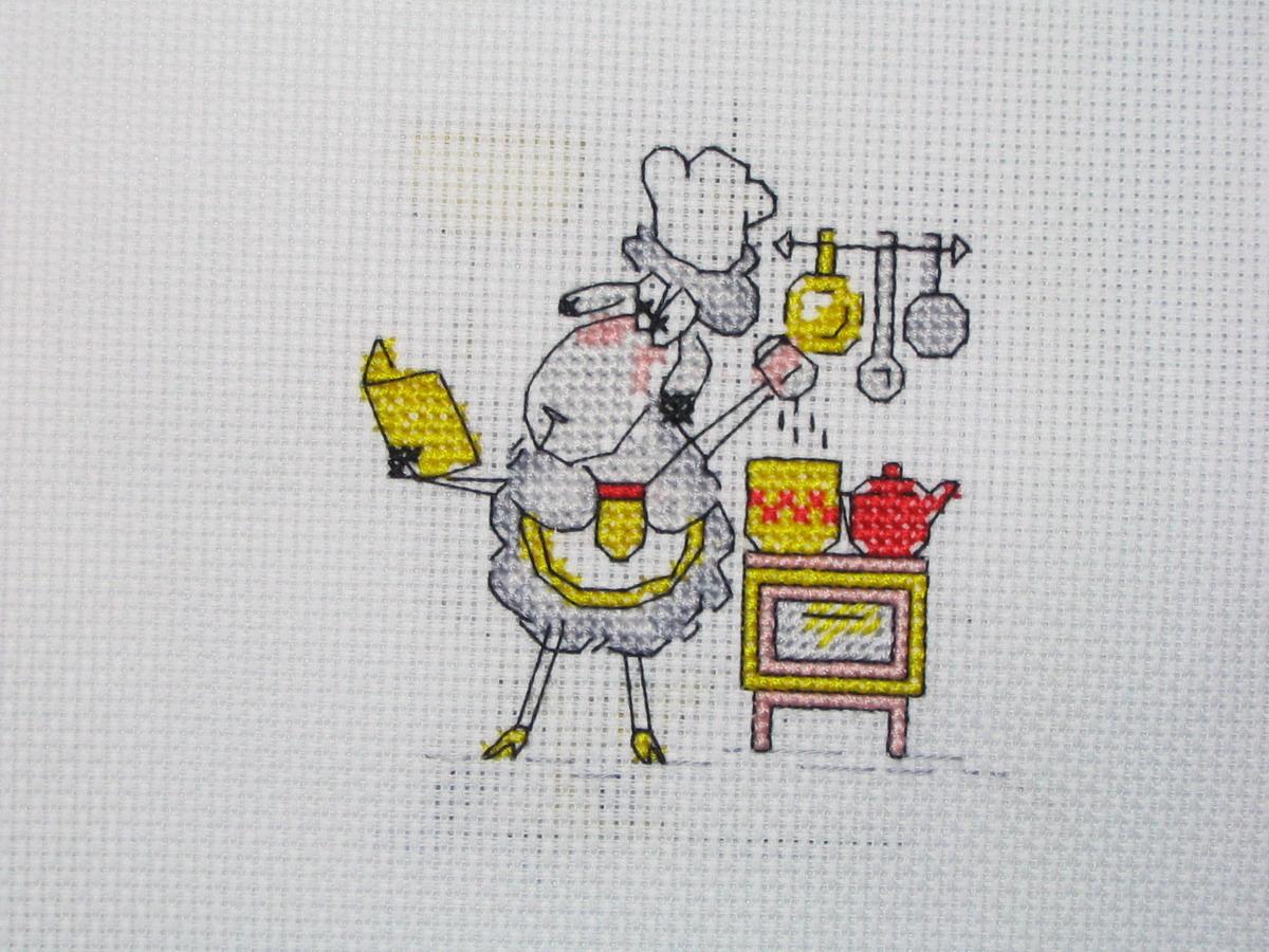 Смешные вышивки на кухню
