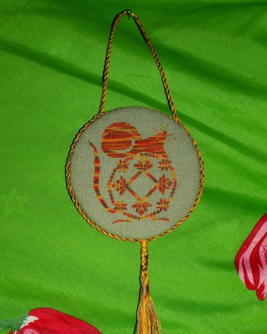 Символ 2008 года. Мои вышивки