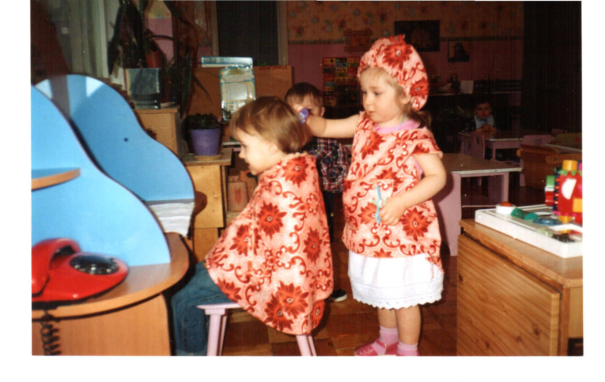 Парикмахерская для детского сада своими руками