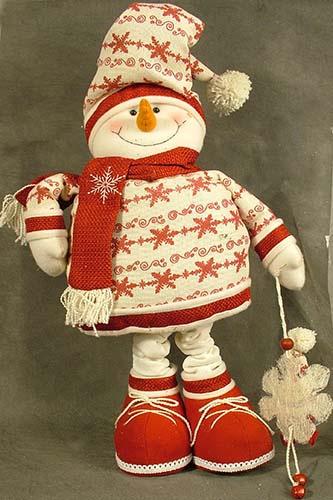 Снеговики на ножках своими руками 12