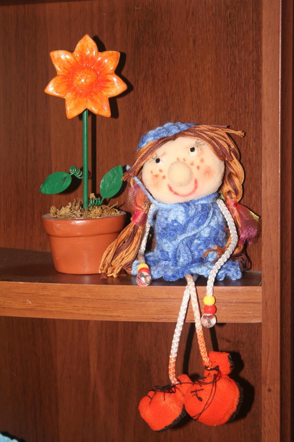 Куклу своими руками из подручных материалов