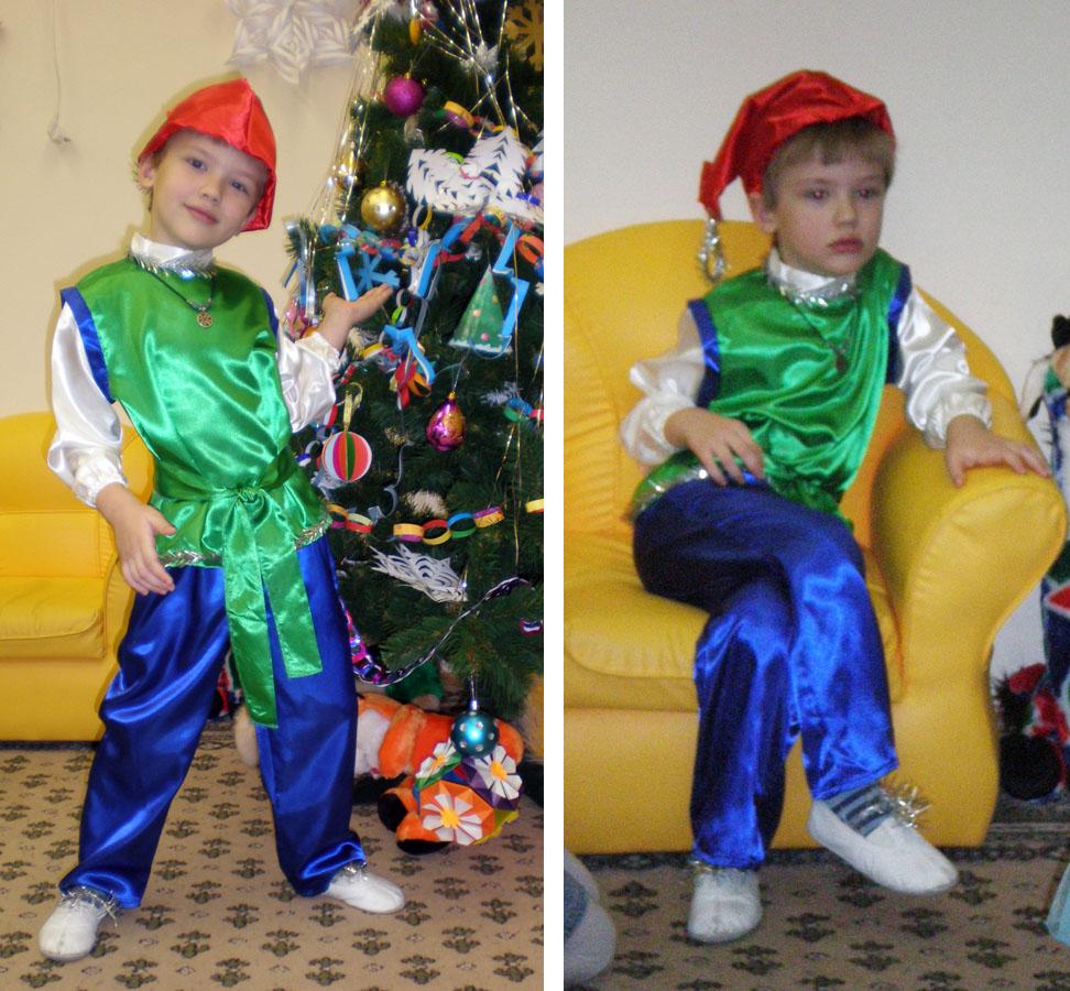 Сделать новогодний костюм ребенку на мальчика