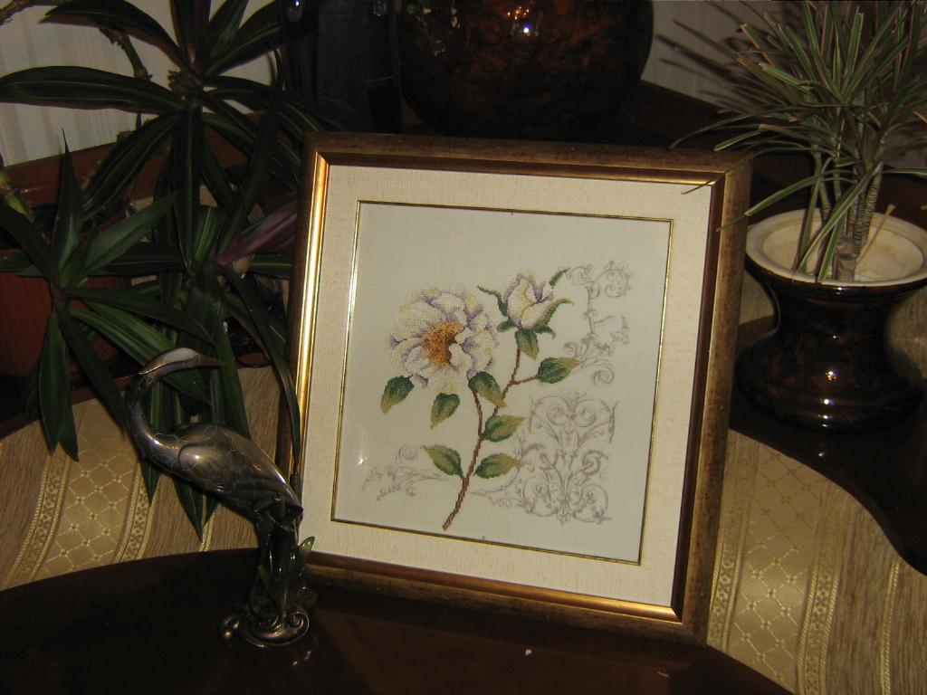 Роза от Ланарте. 1. Мои вышивки