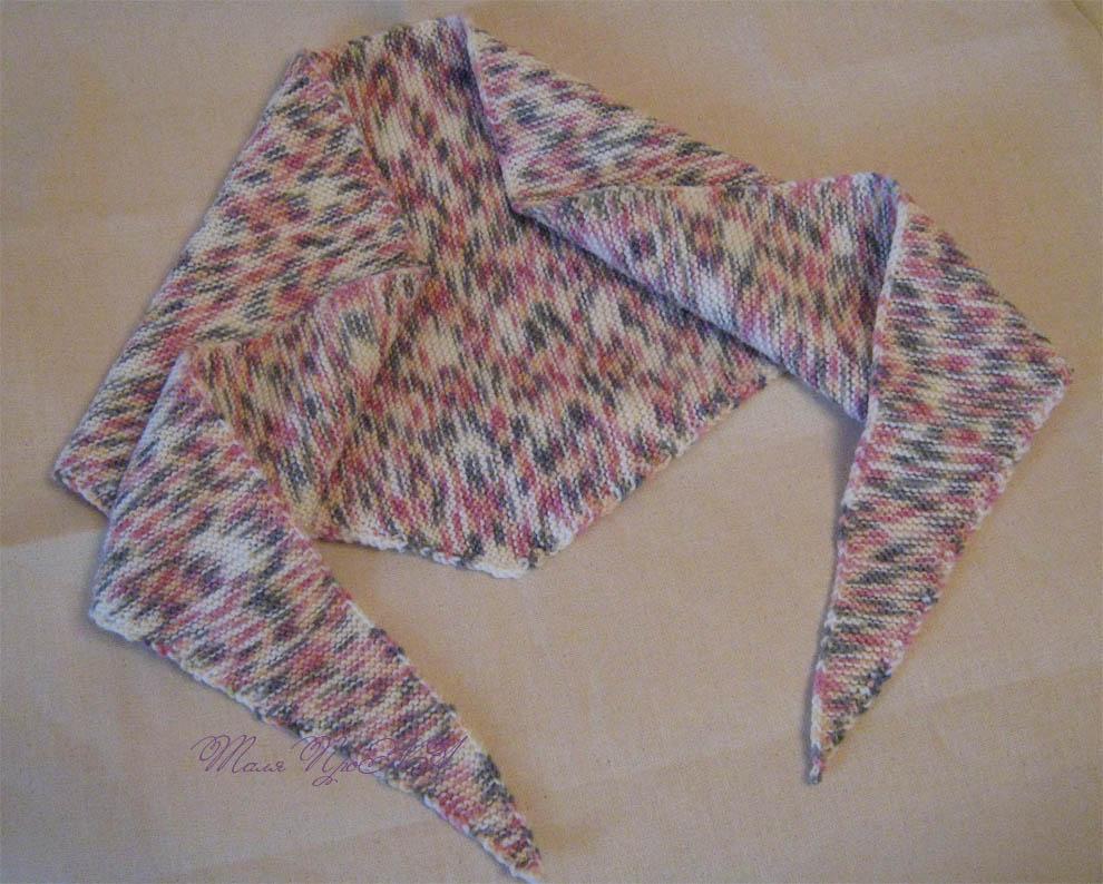 Бактус для Алиолы. Вязание
