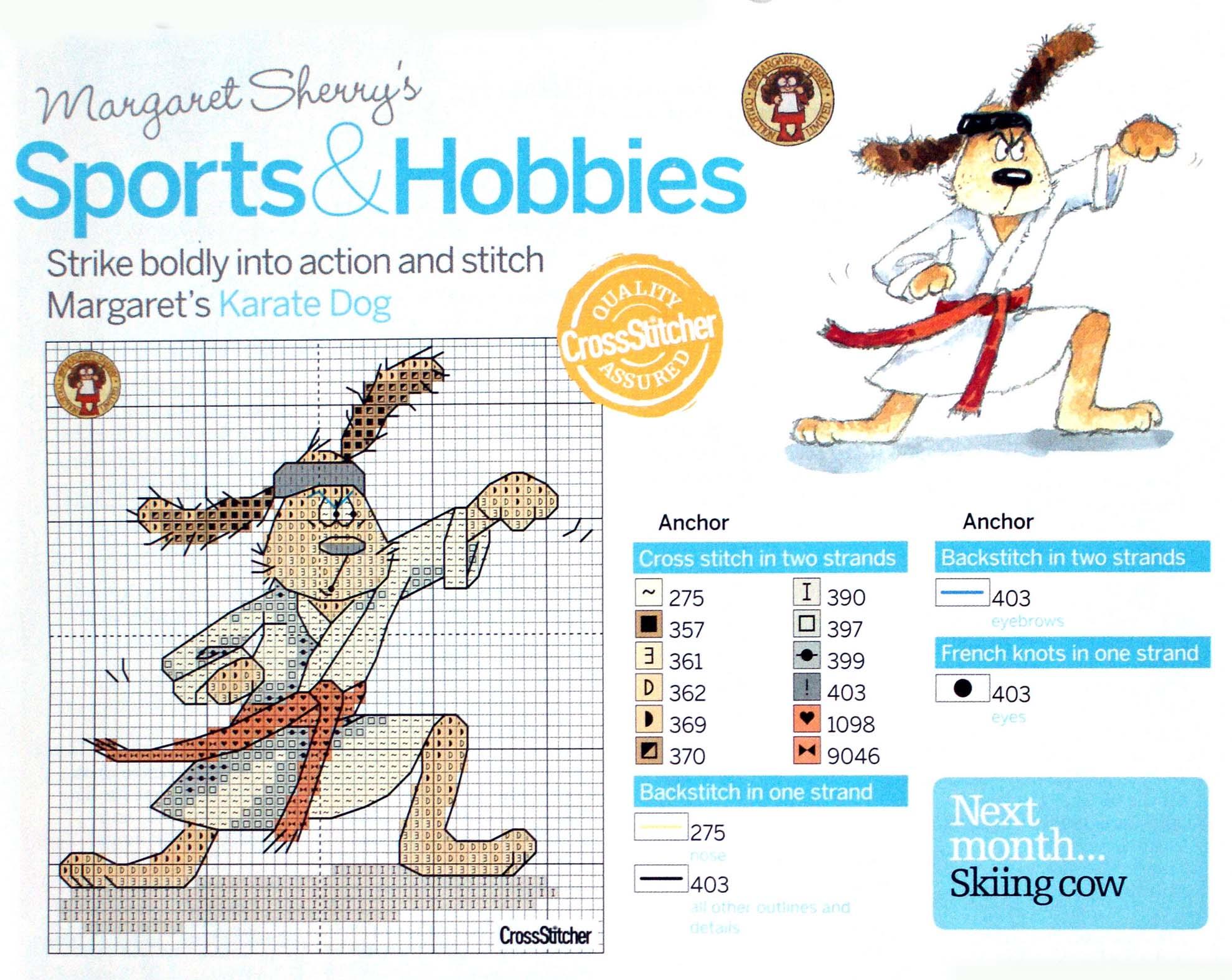 Вышивка для спорта
