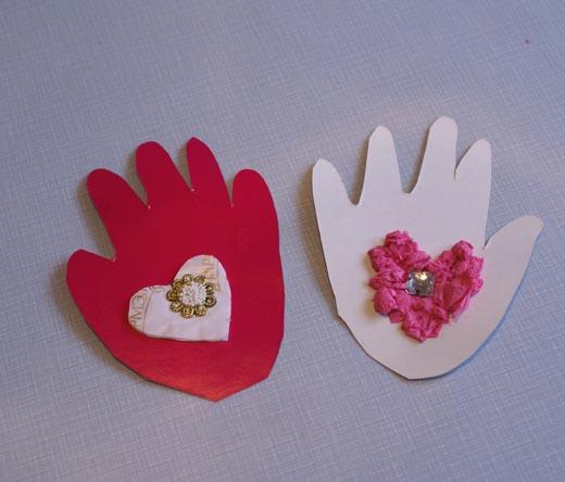 Валентинки своими руками от детей фото