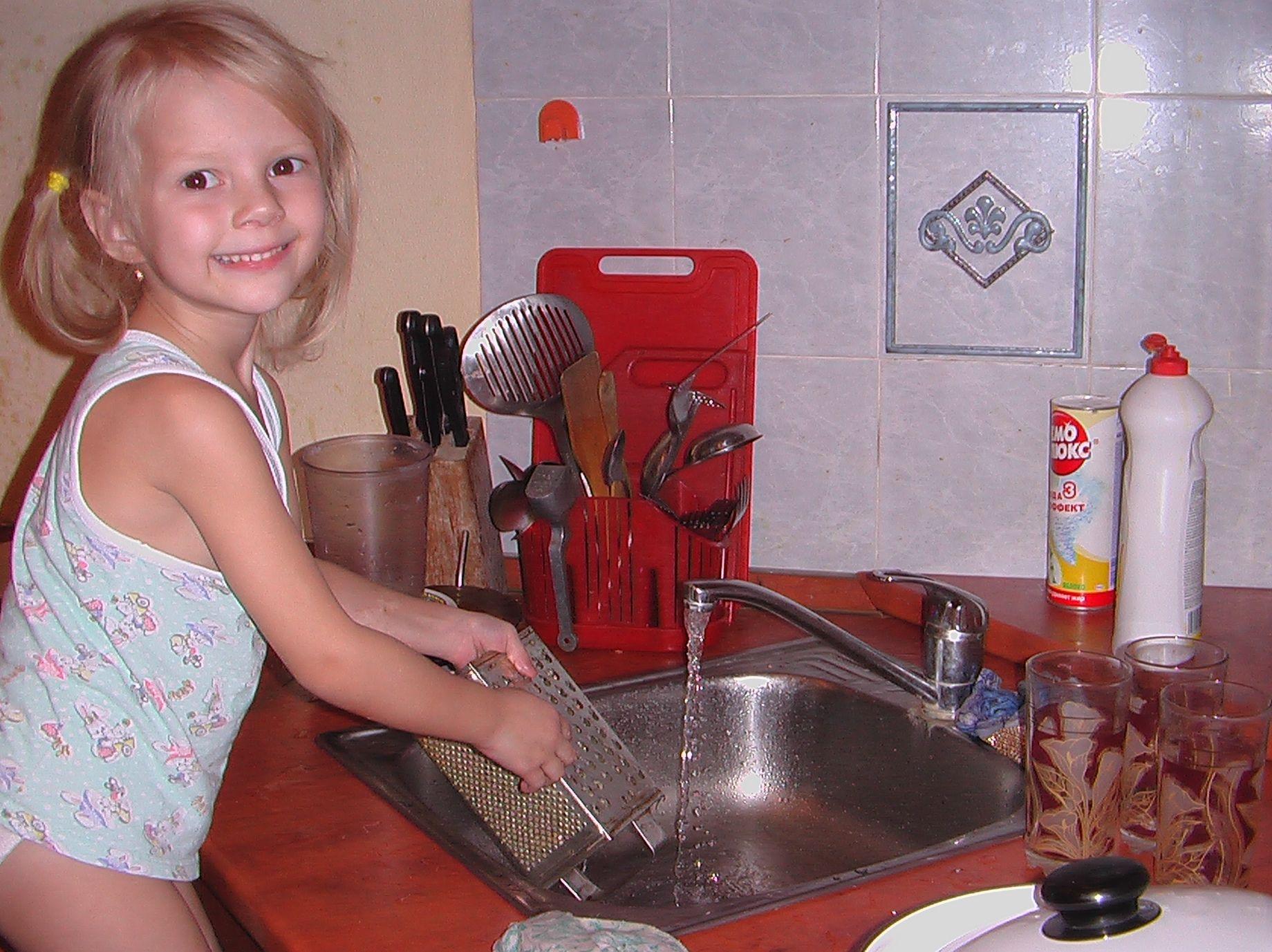 Сын моется дома 11 фотография