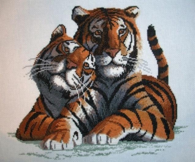 Тигры закончены. True love II (закончен)