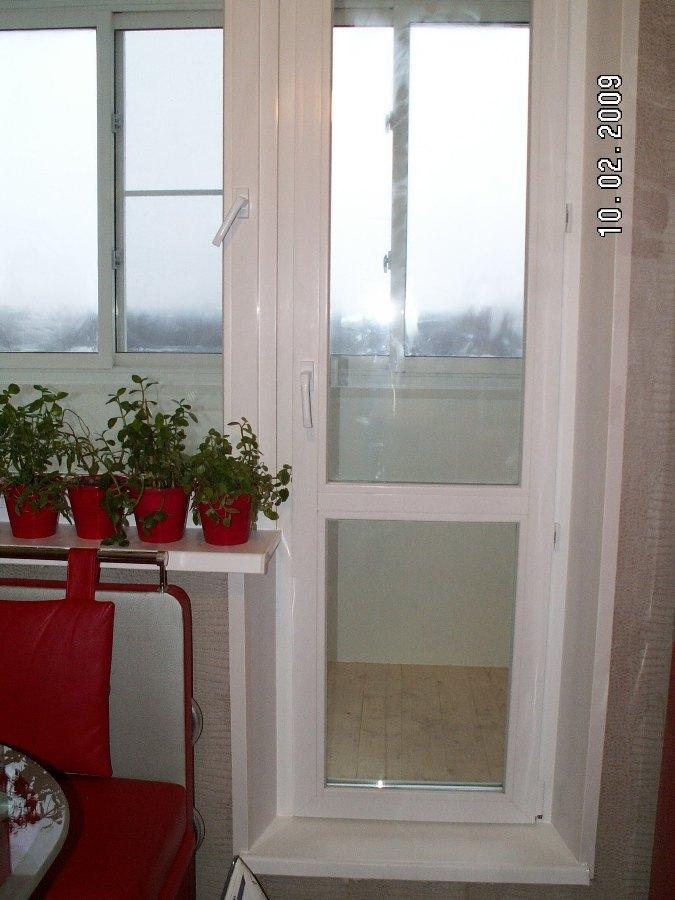 Подоконник в балконной блоке. - дизайн маленьких лоджий - ка.