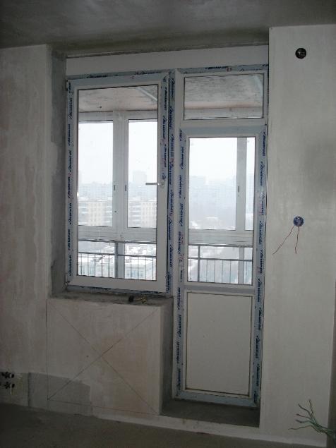 Вместо окна дверь на балкон фото.