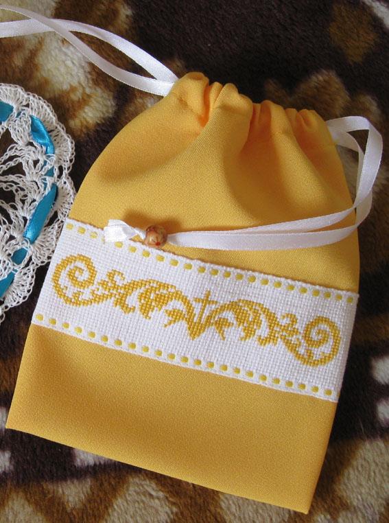 Мешочки для просфор с вышивкой