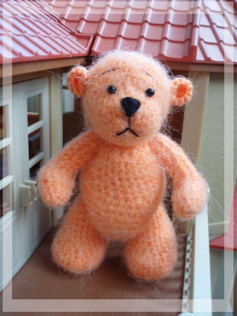 Медвежонок Персик.. Рукоделие