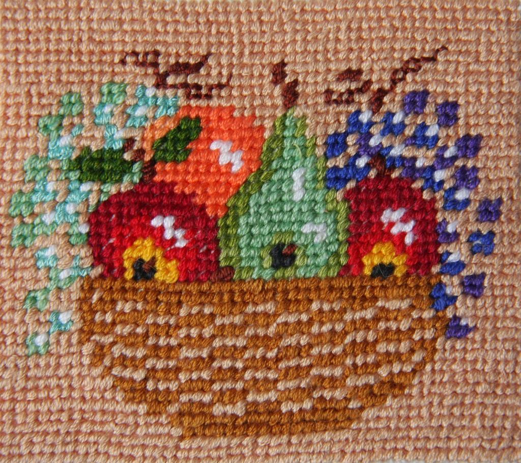 Схема вышивки лукошко 29