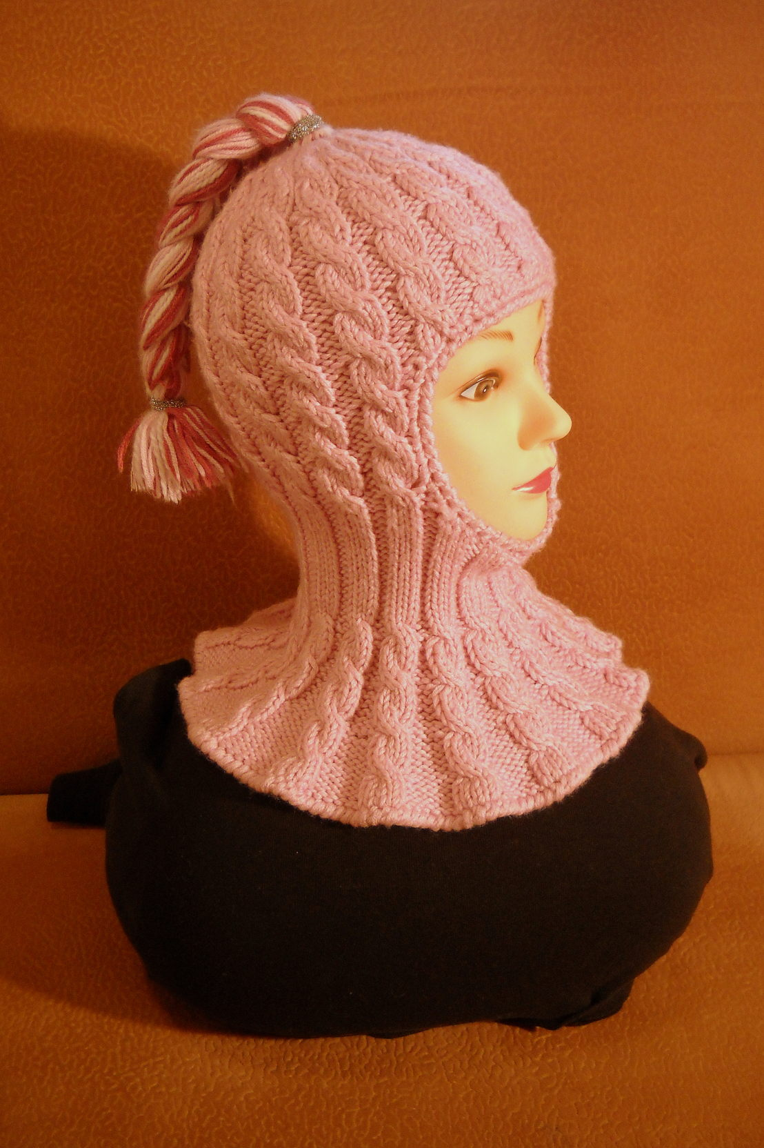 Вязание спицами шапочки для девочки мк