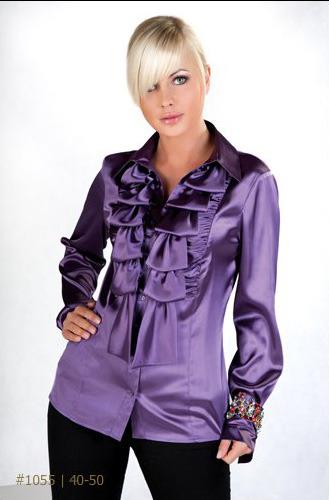 Самые Красивые Блузки Из Атласа