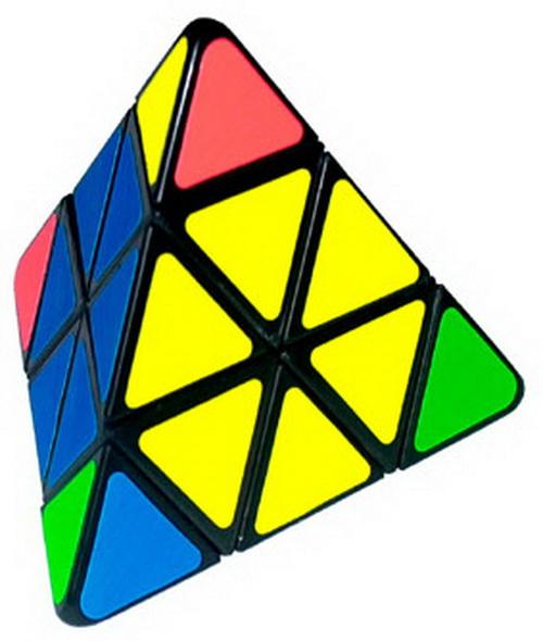 может почему вместо кубиков триугольники странно, выбирая
