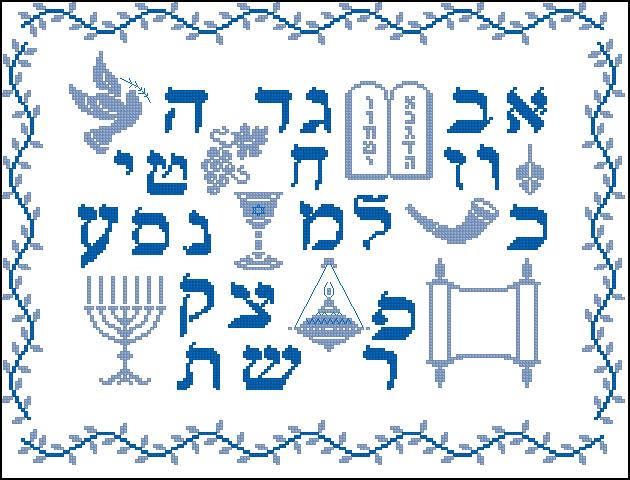 Алфавит иврита - Самоучитель иврита