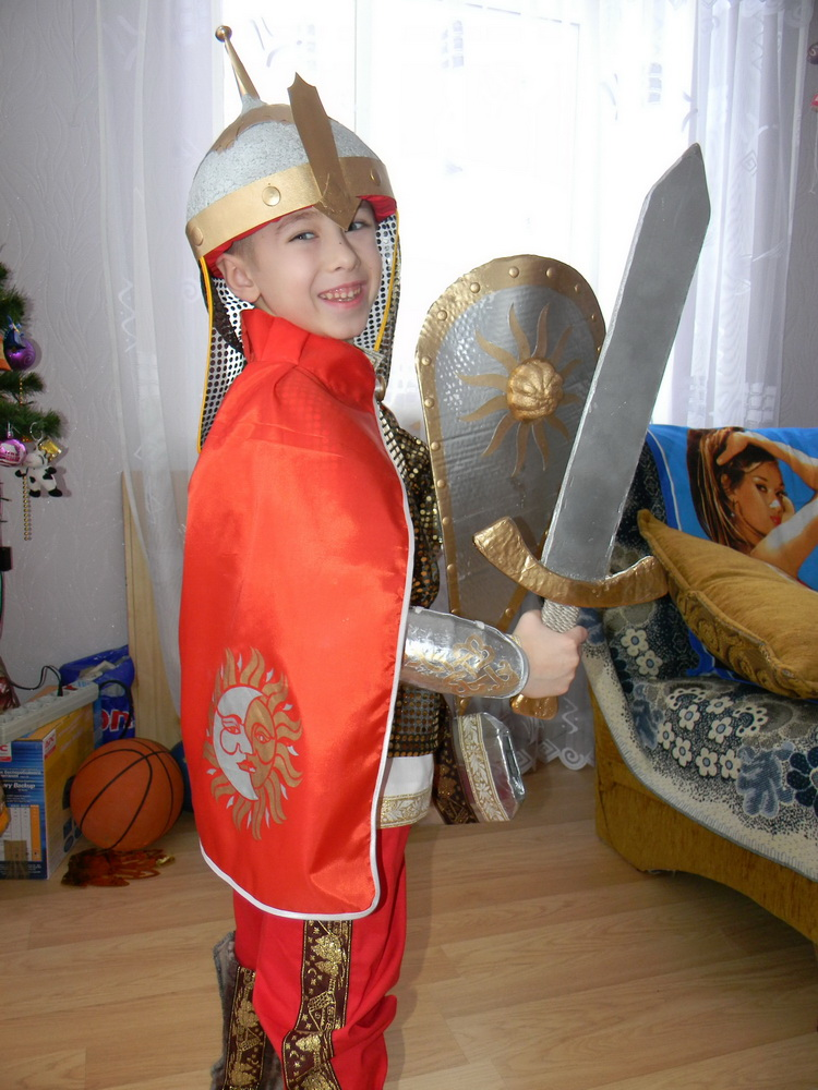Как сделать шлем для богатыря своими руками