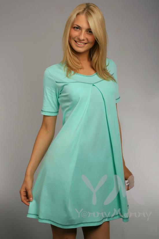 Трикотаж платье для беременной своими руками 1