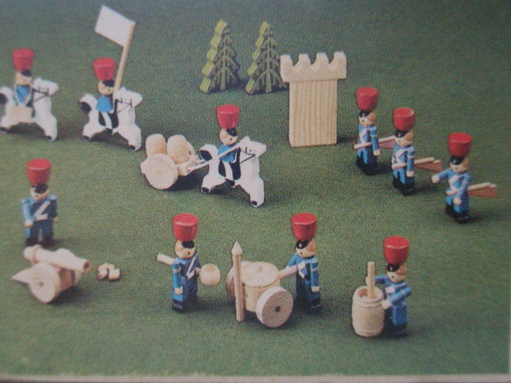 Деревянные солдаты своими руками 39