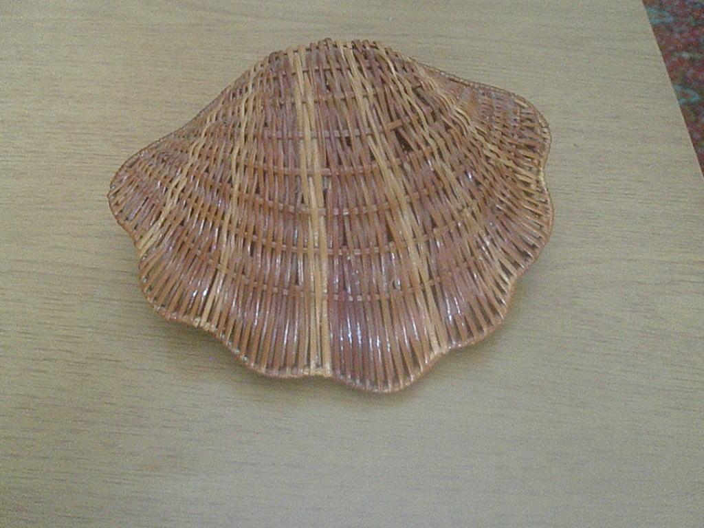 Плетеная ракушка своими руками 3