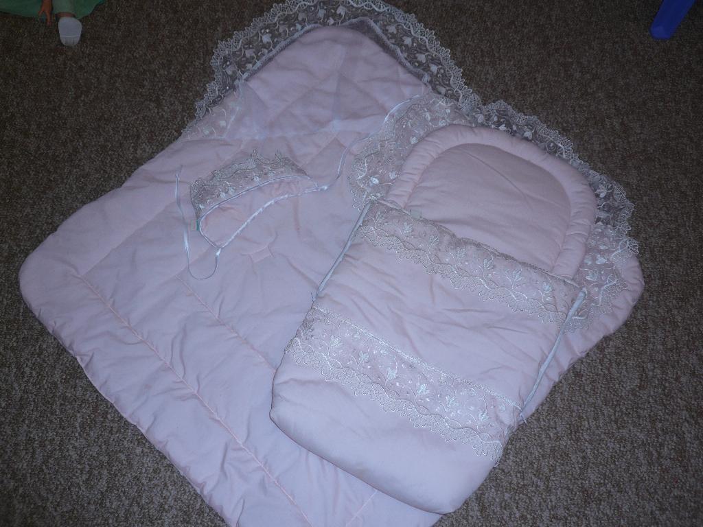 Одеяло на выписку своими руками зимой