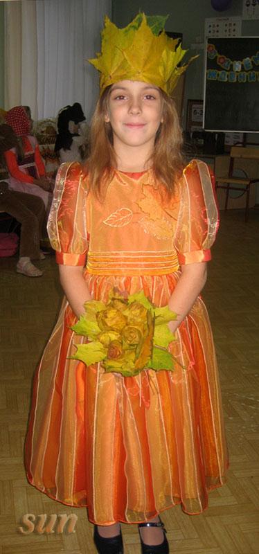 Осенние костюмы на осенний бал своими руками