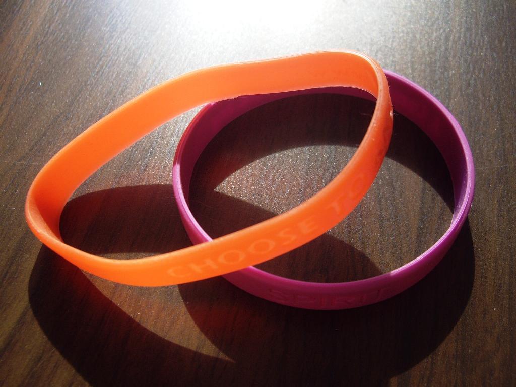 Силиконовые браслеты своими руками
