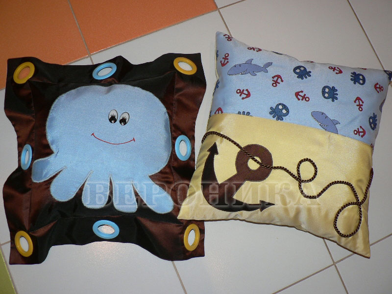 Подушки для детской своими руками мастер класс