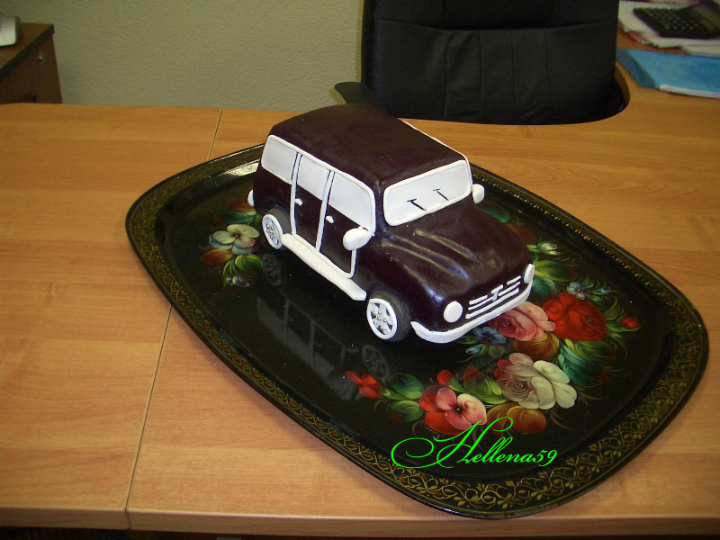Торт для мужчины своими руками машина