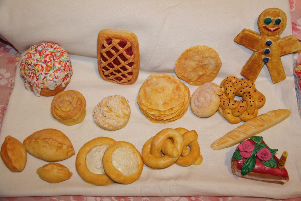 Поделки из солёного хлеба