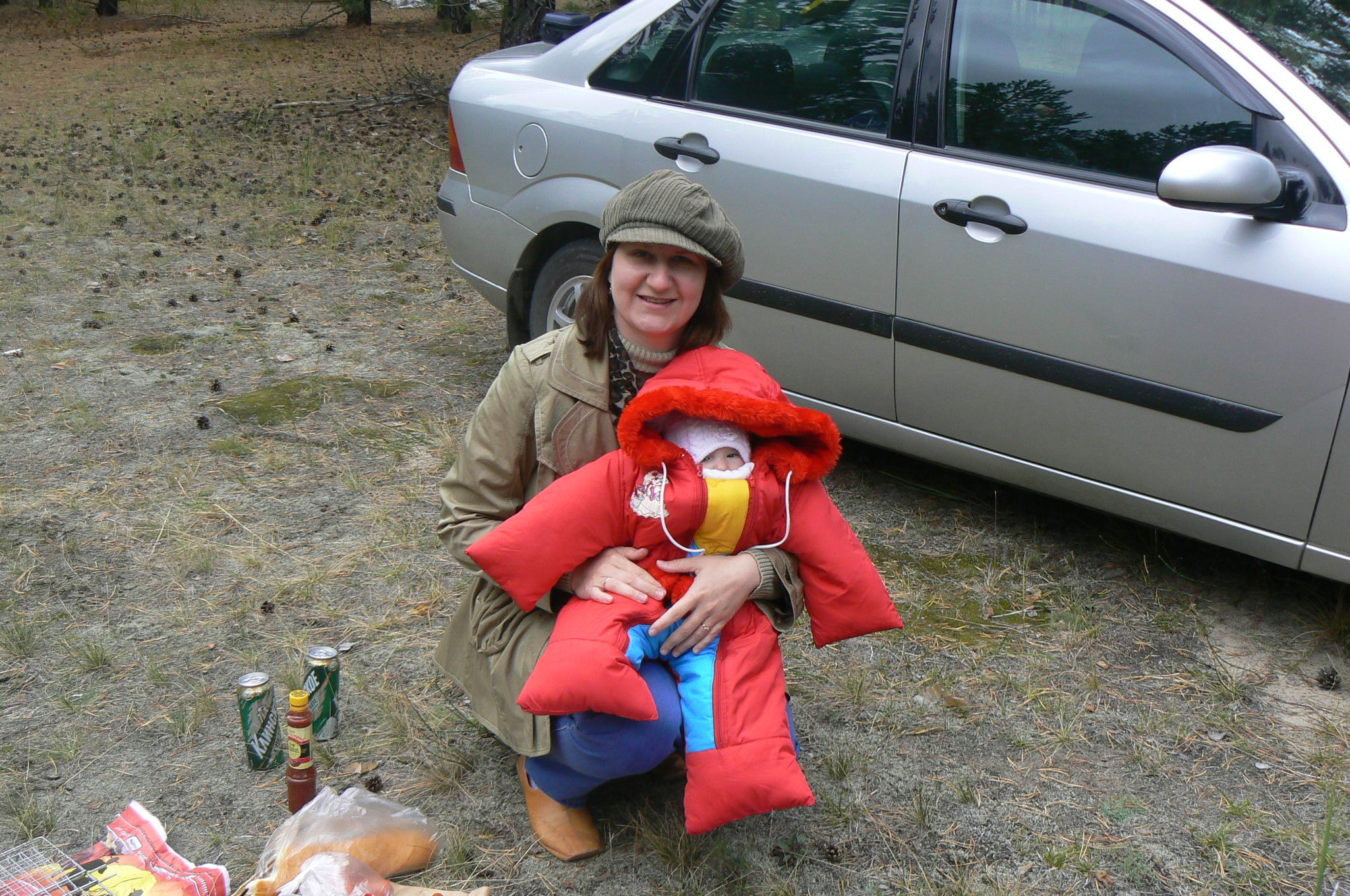 С мамой в лесу 6 фотография