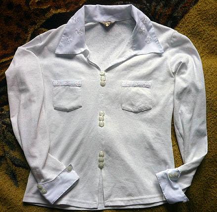 Блузки белые для школы