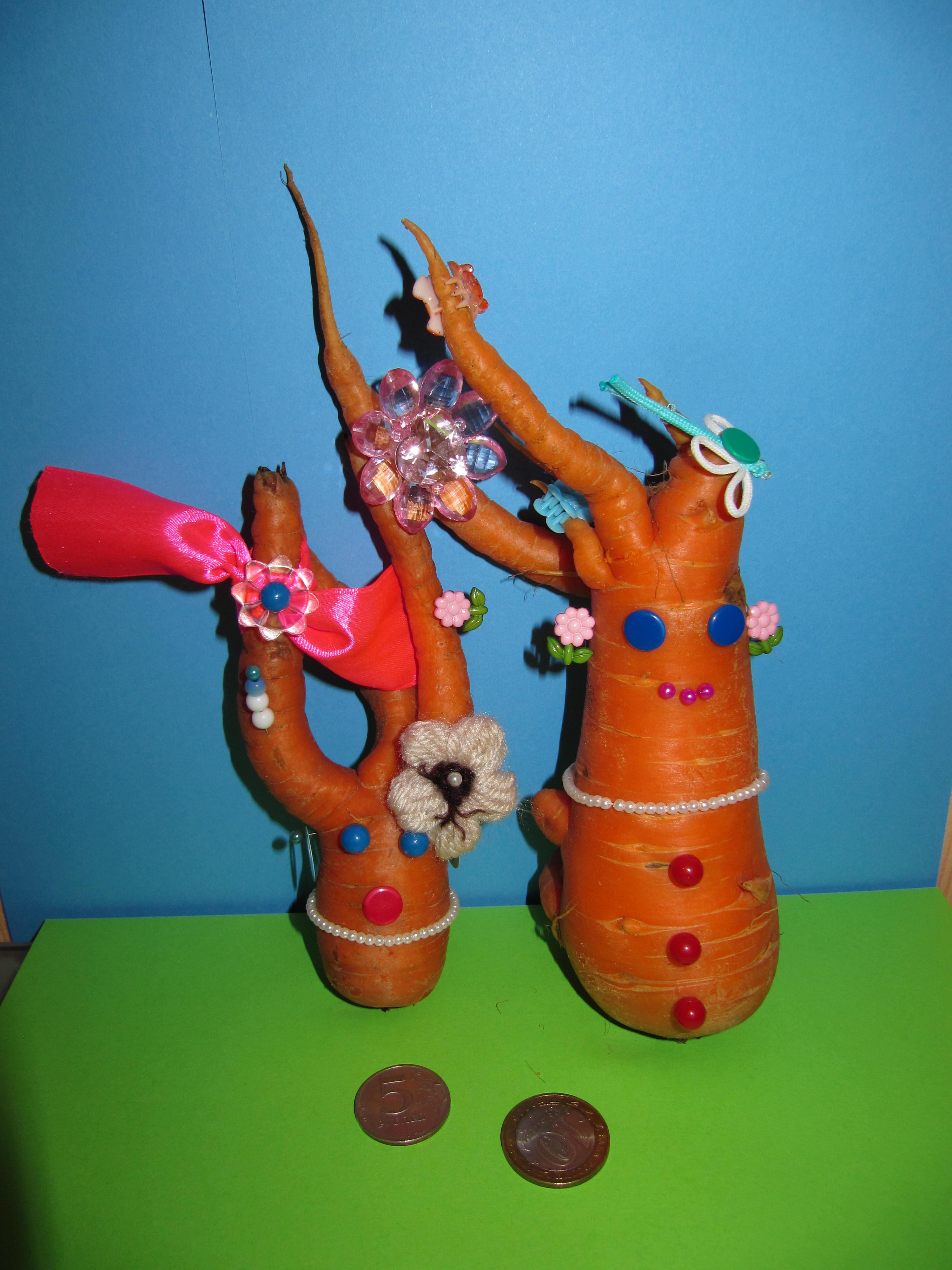 Поделка из свеклы в детский сад фото