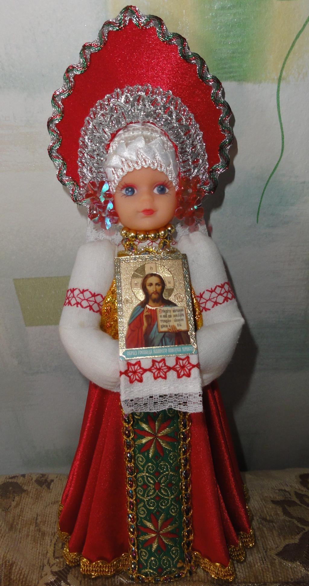 Кукла русская красавица своими руками