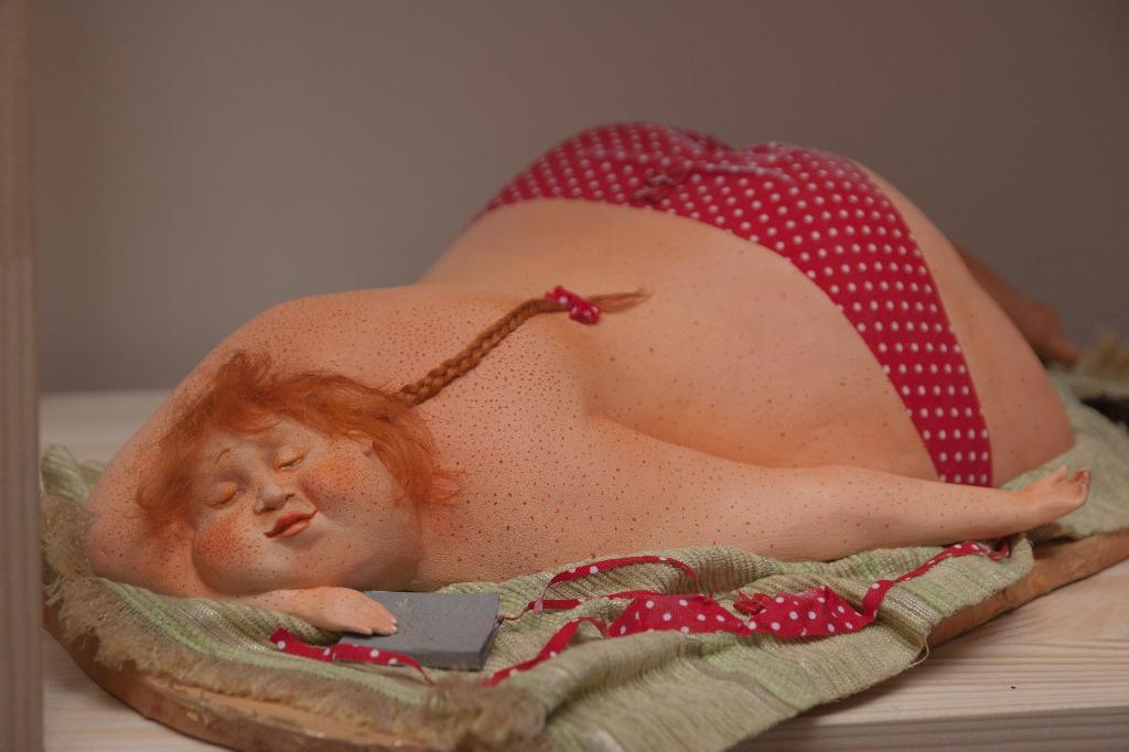 Резиновая кукла своими руками