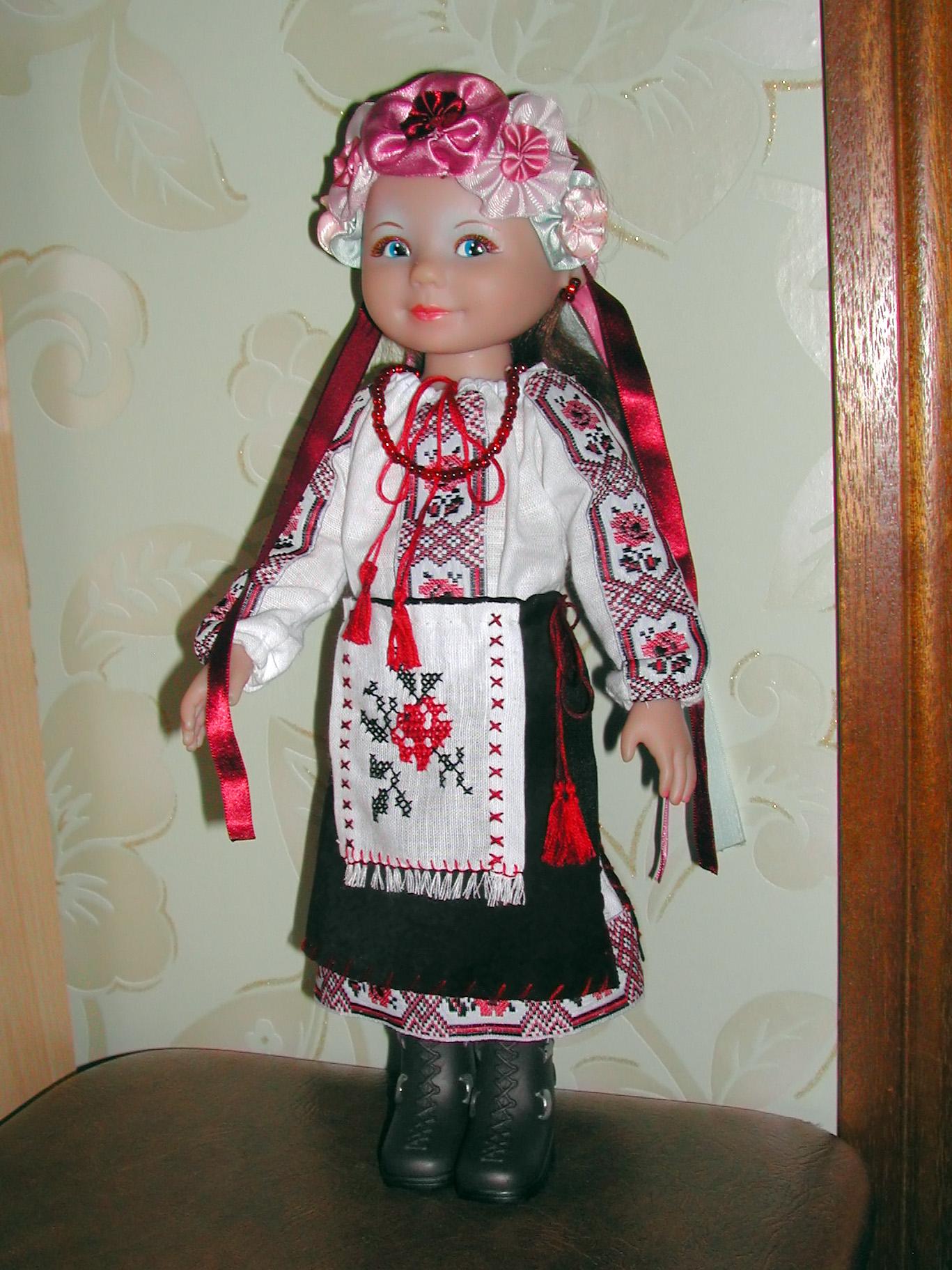 Куклы своими руками национальные наряды