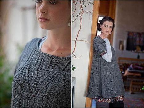 Вязание спицами для беременных женщин 35