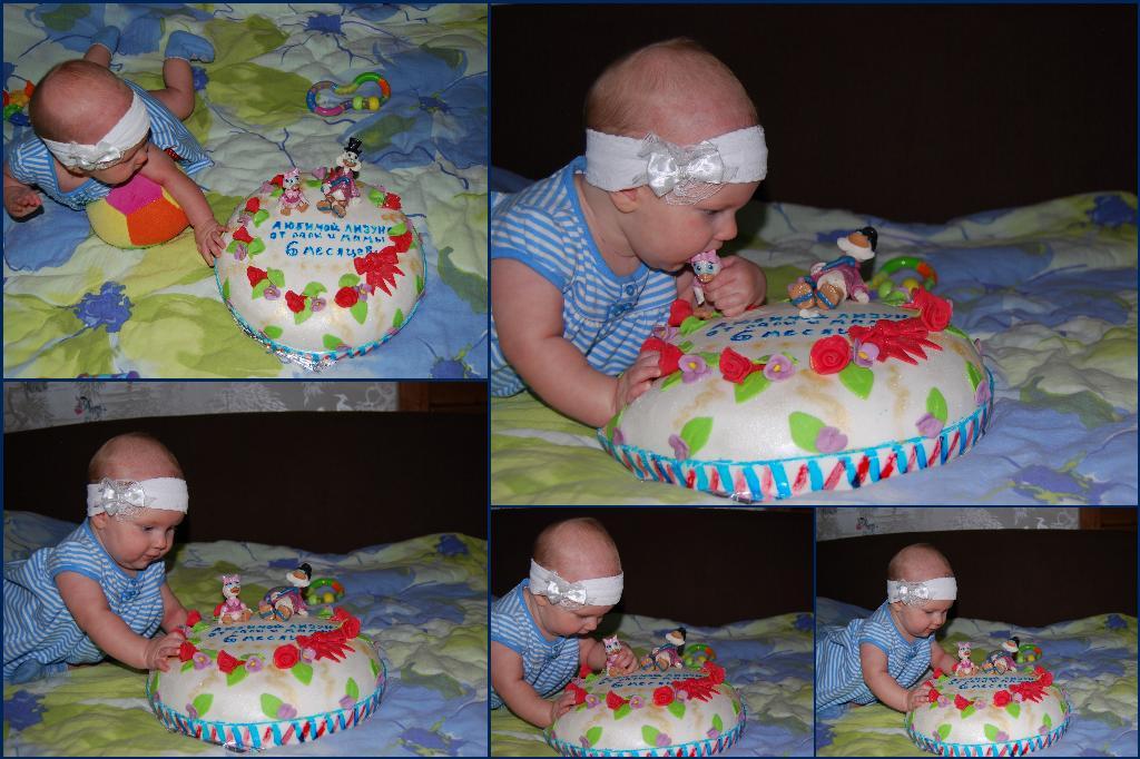 Ребенку на полгода своими руками