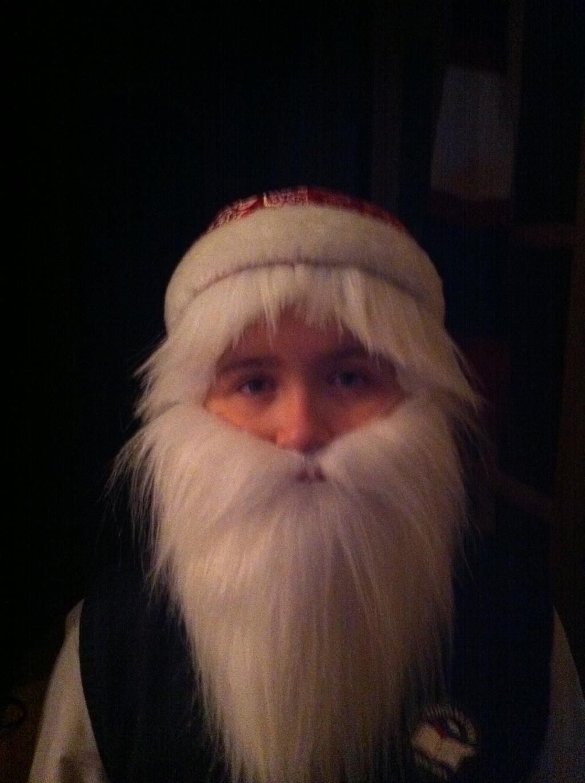 Борода деда мороза из синтепона своими руками