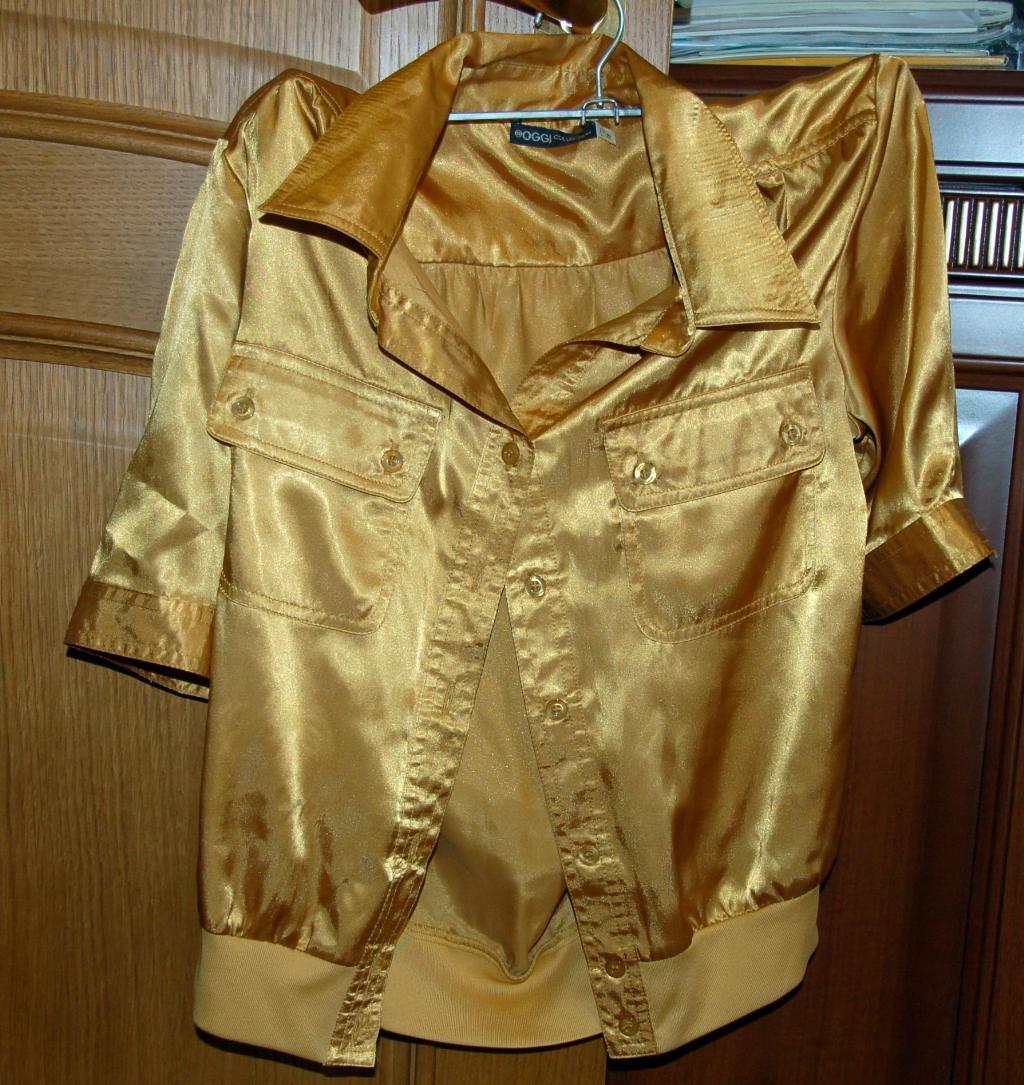Блузка Золотая