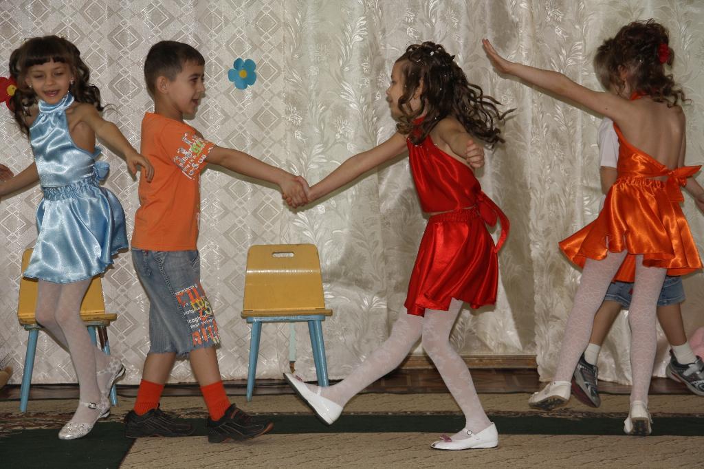 фото юных танцовщиц