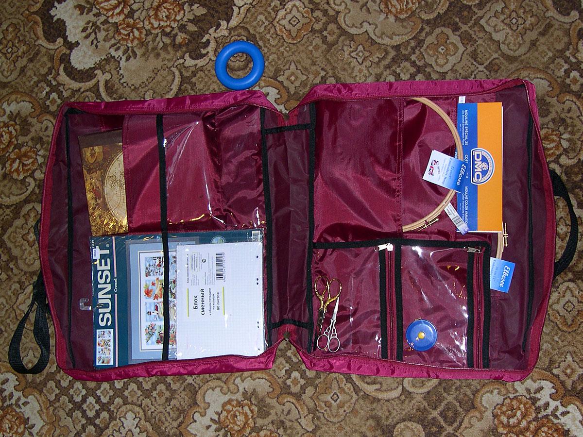 Как сшить чемоданчик для рукоделия