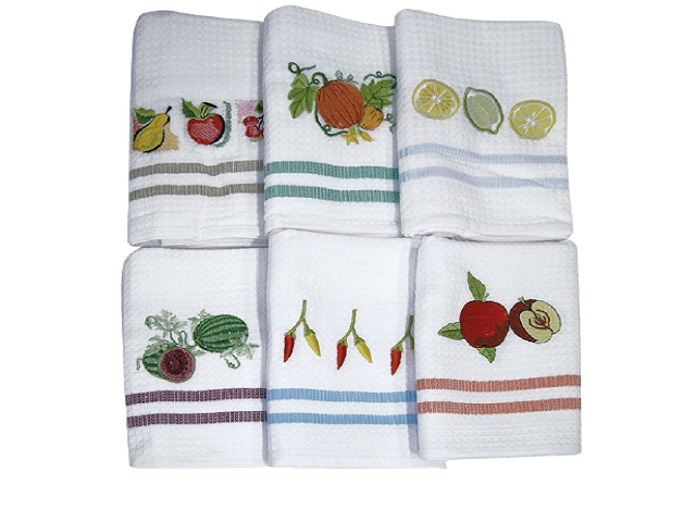 Узор для вышивки вафельного полотенца