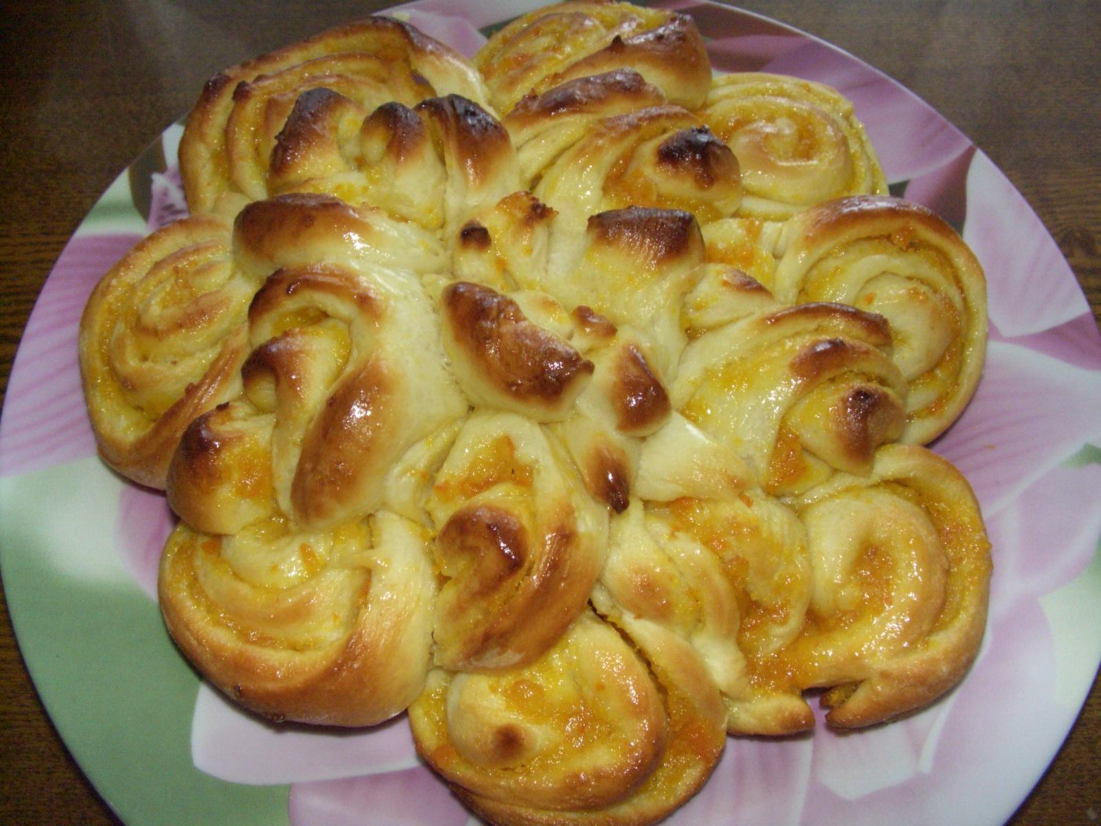 Пирог ромашка рецепт