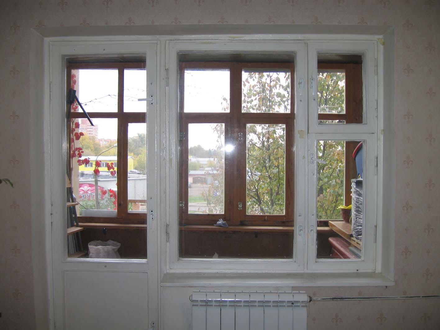 Балконная дверь. до. пластиковые окна. фотоальбом участника .