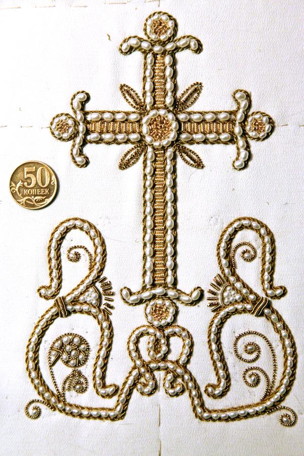 Вышивка крест церковный 25